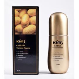 Сыворотка антивозрастная для лица с протеинами кокона шелкопряда Kims Gold Silk Cocoon Serum