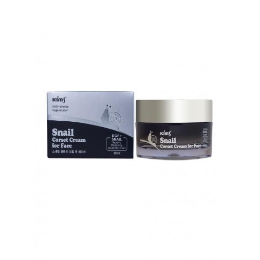 Улиточный крем для лица Kims Snail Corset Cream for Face
