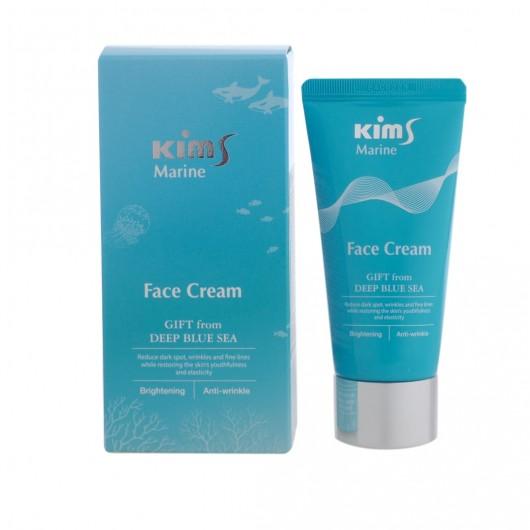 Антивозрастной крем для лица Kims Marine Face Cream