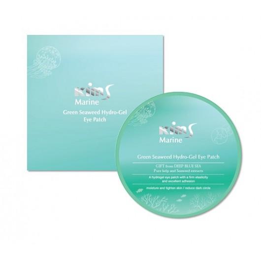 Гидрогелевые патчи с водорослями Kims Marine Green Seaweed Hydro-Gel Eye Patch