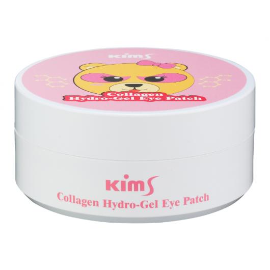 Гидрогелевые патчи с коллагеном Kims Collagen Hydro-Gel Eye Patch (60 шт. в баночке, размер S)