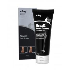 Улиточный крем для ног Kims Snail Foot Cream с мочевиной (от мозолей и натоптышей)