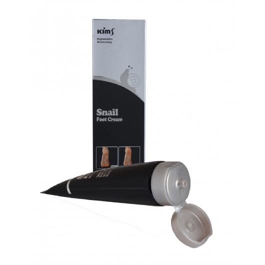 Улиточный крем для ног Kims Snail Foot Cream